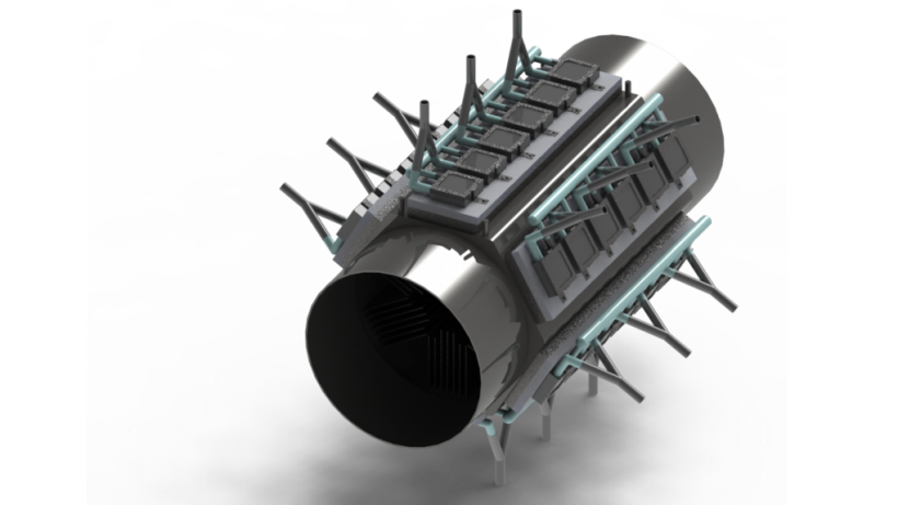 Waste Heat Recovery Unit render